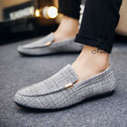 Breathable Shoes Single Men Students Sports Driving Casual Penny Boat Loafers