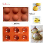Silicone Mini Bundt Cake Pan Molds Donut Sphere Heart Chocolate Jelly Pudding