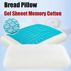 Gel Memory Foam Pillow Classic Bed Pillows Cotton High And Low Profile Pillow image
