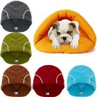 Pet Cat Dog Warm Nest House Kennel Puppy Cave Sleeping Bed Super Soft Mat Pad US