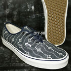 VANS AUTHENTIC INDIGO MOOD INDIGO BLANC DE BLANC MEN'S SKATE SHOES S91165.079