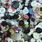 100g Assorted Button Lot Shirt Coat Jacket Crafts DIY Scrapbooking Project