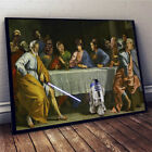 Star Wars The Last Supper Horizontal Poster 11-36 Inches Poster Without Frame $18.95 USD on eBay