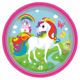 Amscan International 9902101 23 cm Unicorn Paper Plates