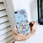 Fashion Laser Alice Soft UNBreak Phone Case Cover For A pple i Phone 7Plus/8Plus