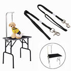Adjustable Dog Grooming Table Arm Bath Restraint Rope Harness Noose Loop Beamy