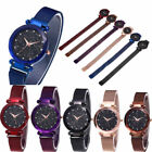 Luxury Women Starry Sky Watch Magnet Strap Buckle Fashion Star Watch Lover Gift# image