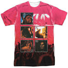 Authentic Pink Floyd Live Concert Photos Sublimation Allover Front T-shirt top image