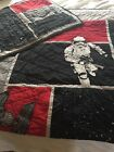 Pottey Barn Kids Star Wars The Force Awakens Twin Quilt with Euro Sham