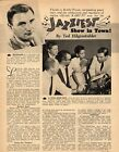 1956 TV ARTICLE~KABC TV STARS OF JAZZ~BOBBY TROUP~PETER ROBINSON~BETTY ROCHE