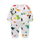 Yierying Baby Boys And Girls Cartoon Dinosaurs 100% Cotton Baby Clothes Romper