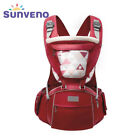 Infant Toddler Ergonomic Baby Carrier with Hipseat For Baby Infant Toddler Kids