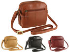 Visconti Ladies Soft Genuine Leather Small Cross Over Shoulder Bag - Holly 18939 image