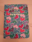 SPANISH NEW WORLD TRANSLATION BIBLE COVER, MINI HEARTS, Jehovah's Witness