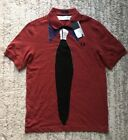 "FRED PERRY SM5381 MEN BURGUNDY POLO T-SHIERT SIZE 38""/S"