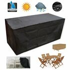 8 Size Waterproof Outdoor Patio Garden Furniture Rain Snow Cover For Table