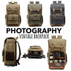 Внешний вид - Camera Bag Backpack Waterproof Photography Outdoor Water Resistant Canvas Large