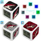 Arizona Coyotes Digital LED Clock Multi Color Changing Alarm Desk Decor $10.99 USD on eBay