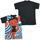 BETTY BOOP MOD RINGS Licensed Sublimation Adult Men's Graphic Tee Shirt SM-3XL $25.66 USD on eBay