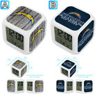 San Diego Chargers Digital LED Clock Multi Color Changing Alarm Desk Decor $11.99 USD on eBay