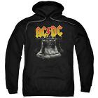 ACDC HELL'S BELLS Licensed Adult Pullover Hooded Band Sweatshirt Hoodie SM-5XL