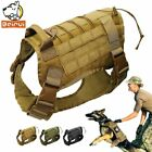 Used, Tactical Dog Harness Training Vest Military Water Resistant Harness Large Dogs for sale  Shipping to Canada