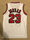 Michael Jordan #23 Throwback Chicago Bulls White Mens Jersey on eBay