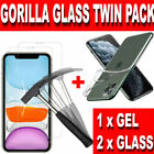 Screen Protector for New iPhone XR XS Max 11 X Gorilla Tempered Glass Clear Case