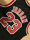 Michael Jordan #23 Throwback Chicago Bulls Black Mens Jersey