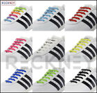 Elastic No Tie Shoe Laces Silicone Shoelaces For Adults & Kids Trainers Shoes <br/> RECKNEY  Flat Shoe Laces  RECKNEY