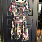 LAVIA Silk Fit And Flare Dress. size 2. $800