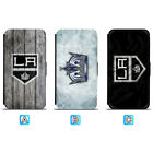 Los Angeles Kings Leather Flip Case For iPhone X Xs Max Xr 7 8 Galaxy S9 S8 $8.99 USD on eBay