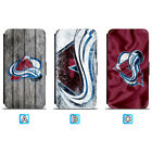 Colorado Avalanche Leather Flip Case For iPhone X Xs Max Xr 7 8 Galaxy S9 S8 $7.99 USD on eBay