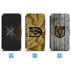Vegas Golden Knights Leather Flip Case For iPhone X Xs Max Xr 7 8 Galaxy S9 S8 $7.99 USD on eBay