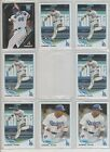 YASIEL PUG (32) CARD ROOKIE LOT WITH ROOKIE INSERTS W/PINNACLE, TOPPS, MINI