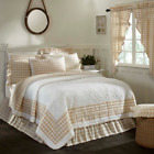 ANNIE BUFFALO TAN QUILT SET & ACCESSORIES.CHOOSE SIZE & ACCESSORIES. VHC BRANDS image