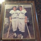 Roger Marris & Mickey Mantel Photo 8 X10 New York Yankees baseball collectible