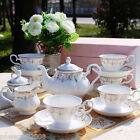 European Fashion Classic Household Porcelain Coffee Sets/Tea Sets 15 PCS