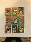 Topps Baseball sports trading cards 9 cards Bseball's Finest lot #red1