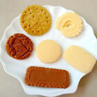 Artificial Cake Cookies Realistic Faux Food Biscuits Dessert Window Display