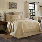 ADELIA CREAM QUILT SET & ACCESSORIES. CHOOSE SIZE & ACCESSORIES. VHC BRANDS image