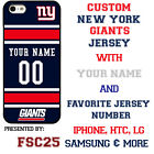 New York Giants Football Phone Case Cover Personalized for iPhone LG etc.