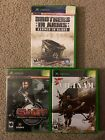 Xbox 3 Game Bundle. SWAT, Conflict Vietnam, Brothers In Arms. Tested.