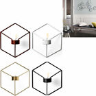 3D Geometric Candlestick Metal Wall Candle Holder picture