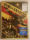 SONS OF ANARCHY Season 2 (2010, 4-DVD Set) *Charlie Hunnam* SHIPS OUT Mon-Sat!