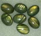 90.10Cts.Natural Labradorite Oval Smooth Pair Cab Gemstone From Madagascar AE-94