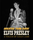 Elvis PresIey - A Touch Of Gold Lame' - Hardback Book -  New & Sealed ********