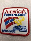 Y2K Year 2000 Trails End AMERICA'S POPCORN SALE BSA Boy Scouts Patch S86J