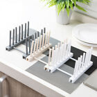Plastic Dish Rack Dish Holder Kitchen Cups Drainer Tool 3 Colors Portable Hot