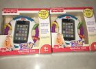 Lot of 2 Fisher-Price Laugh Learn Apptivity Case for iPhone iPod Touch Devices
